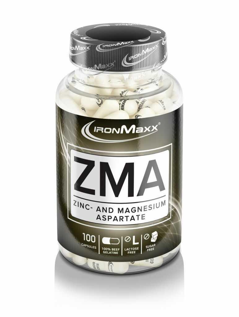 IronMaxx ZMA - 100 kap.