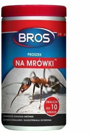 BROS Proszek na mrówki 10 g
