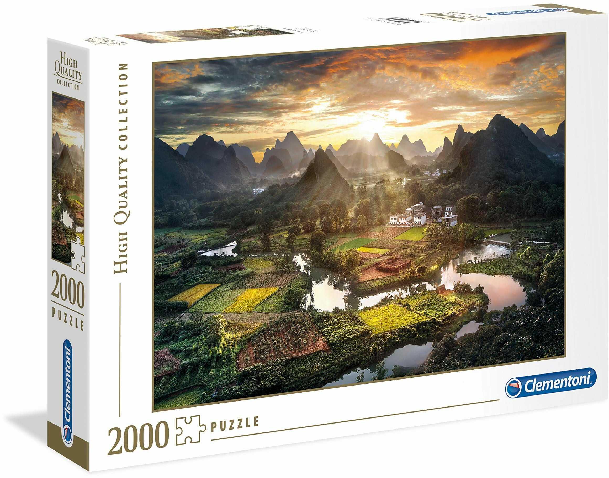 "Clementoni 32564"" Tal in Chin-Puzzle 2000 części High Quality Collection"