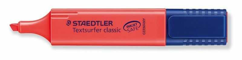 Zakreślacz Textsurfer Classic Staedtler 39527 304440, Kolor: Czerwony