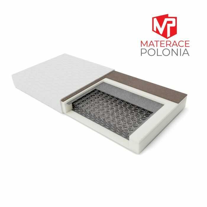 materac bonellowy SARMATA MateracePolonia 180x200 H2 H3 + 10 lat gwarancji
