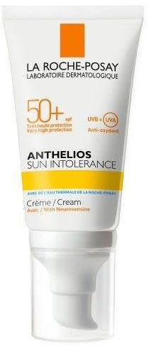 La Roche-Posay Anthelios Sun Intolerance kojący krem ochronny dla bardzo wrażliwej i nietolerancyjnej skóry SPF 50+ 50 ml