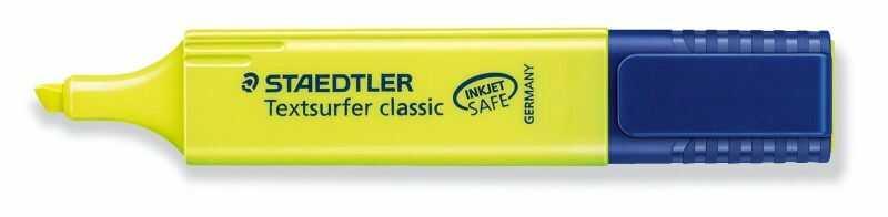 Zakreślacz Textsurfer Classic Staedtler 304440 304679, Kolor: Żółty