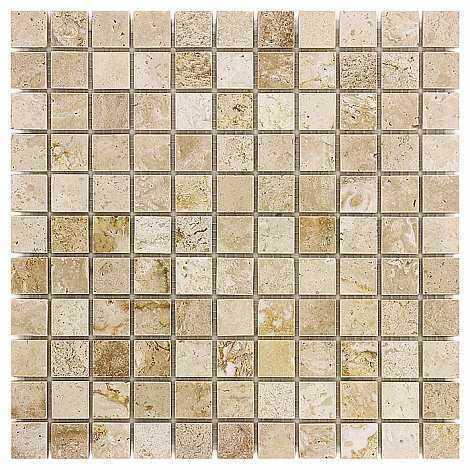DUNIN Travertine mozaika kamienna Cream 25