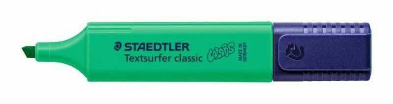 Zakreślacz Textsurfer Classic Staedtler 304679 39589, Kolor: Mocny zielony