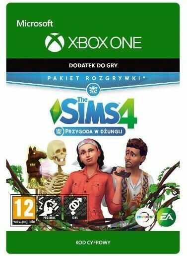 The Sims 4 - Przygoda w Dzungli DLC [kod aktywacyjny] Xbox One Dostęp po opłaceniu zakupu