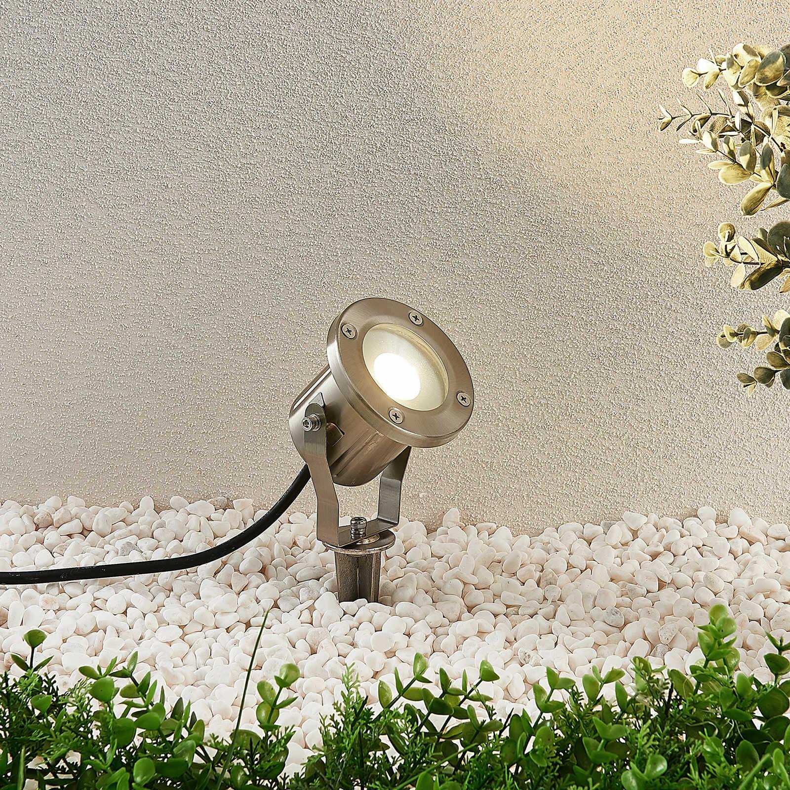 Reflektor z grotem ziemnym LED Mathis