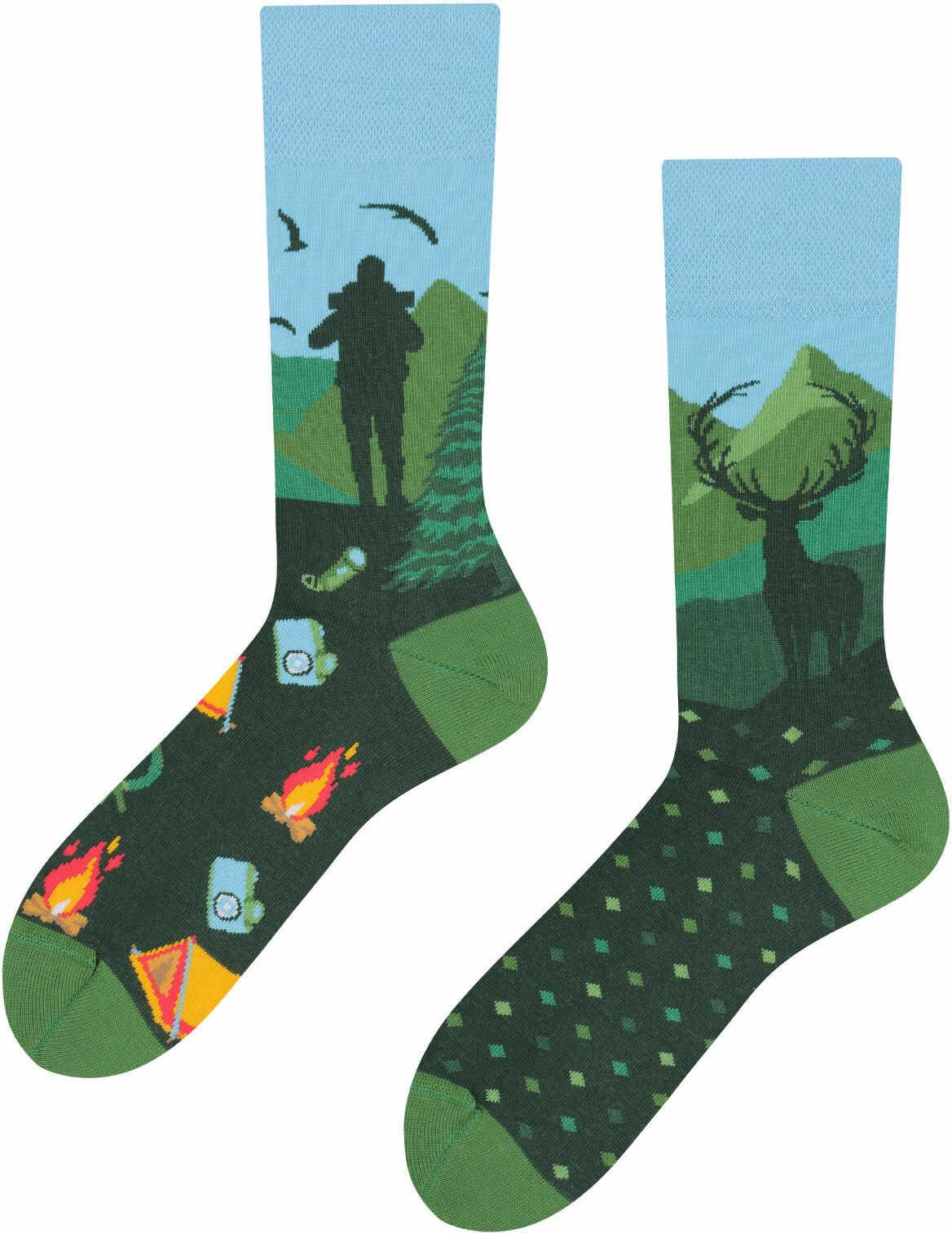 Mountain Trail, Todo Socks, Góry, Trekking, Szlak, Kolorowe Skarpetki