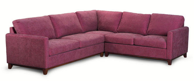 Narożnik, kanapa narożna Estelia Modern Example, tkanina