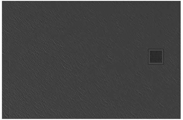 Brodzik prostokątny 120x80 Mori New Trendy (B-0398)
