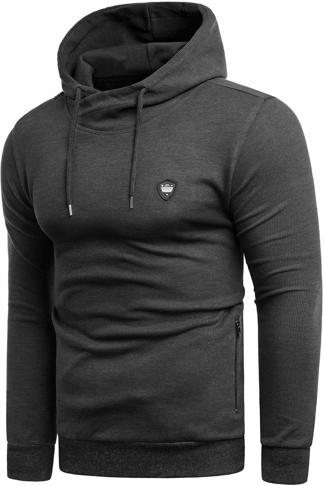 Bluza męska 5334 - czarna