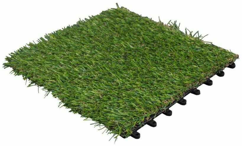 Podest tarasowy 30 x 30 cm sztuczna trawa 22 mm DLH