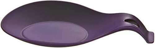 Premier Housewares Zing silikonowy pojemnik na łyżkę - fioletowy