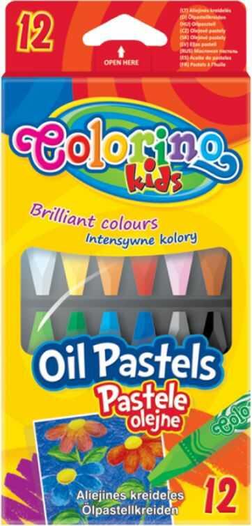 Pastele olejne 12k sześciokątne Colorino nr 4052 814052