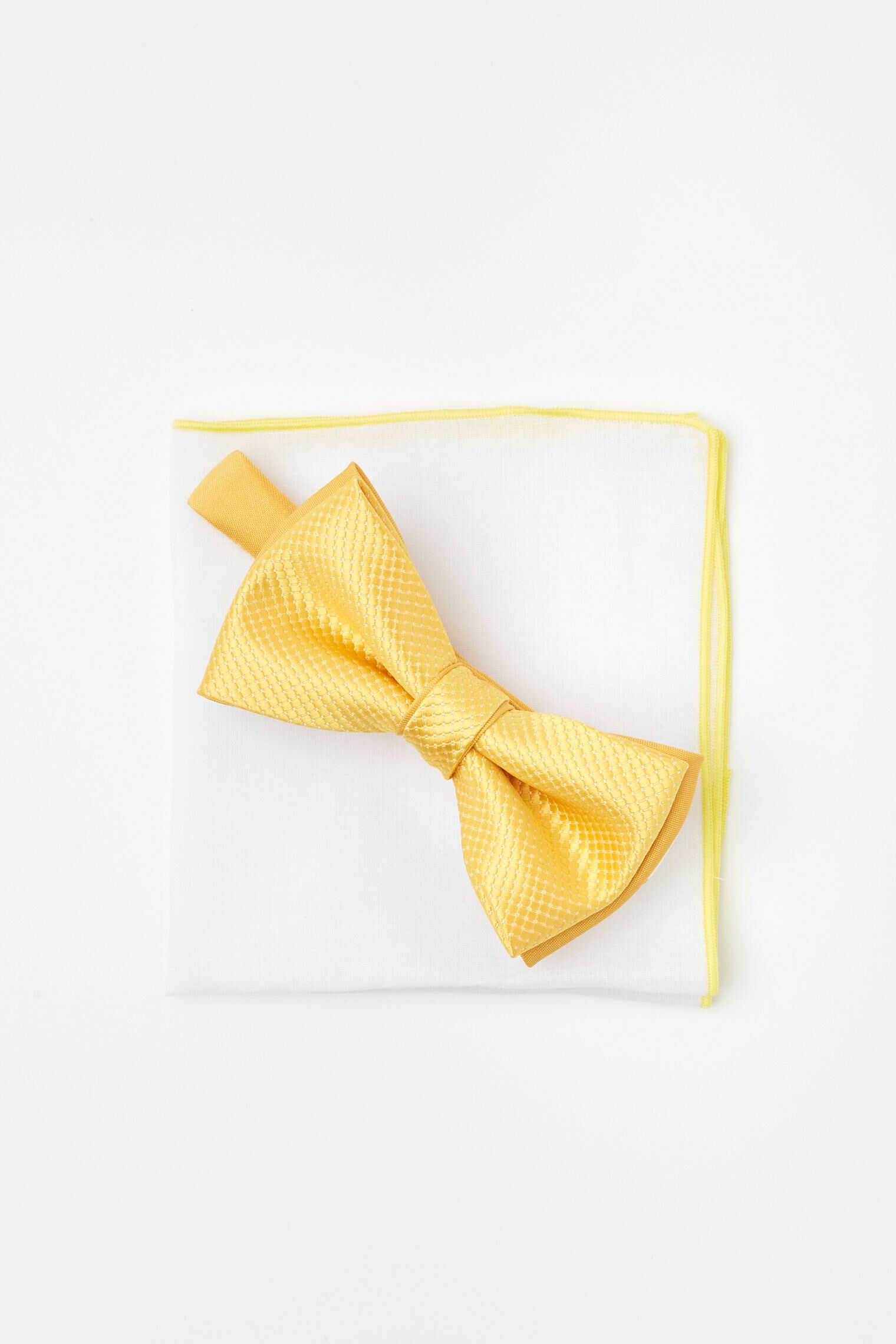 mucha gładki żółty 100