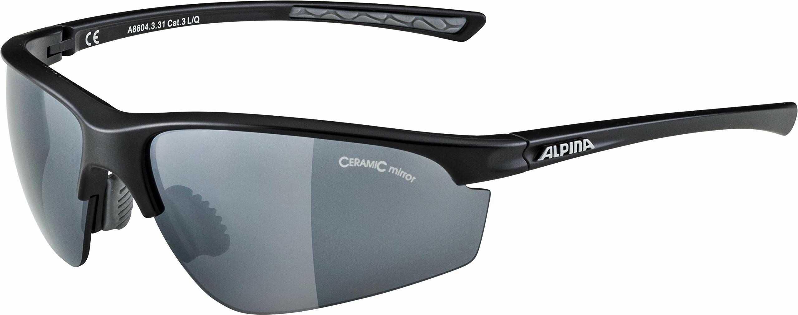 Alpina Tri-Effect 2.0 Okulary Przeciwsłoneczne, Czarny