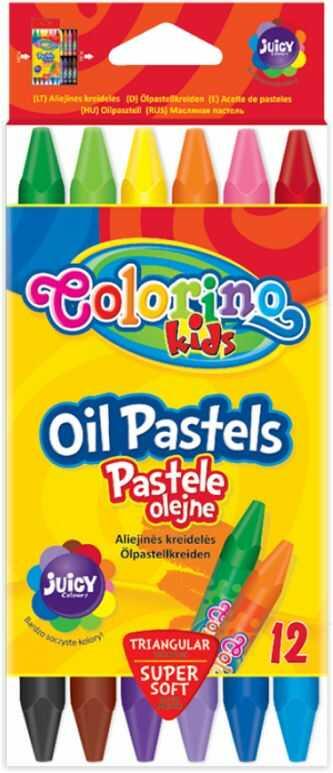 Pastele olejne 12k trójkątne Colorino nr 2636 832636