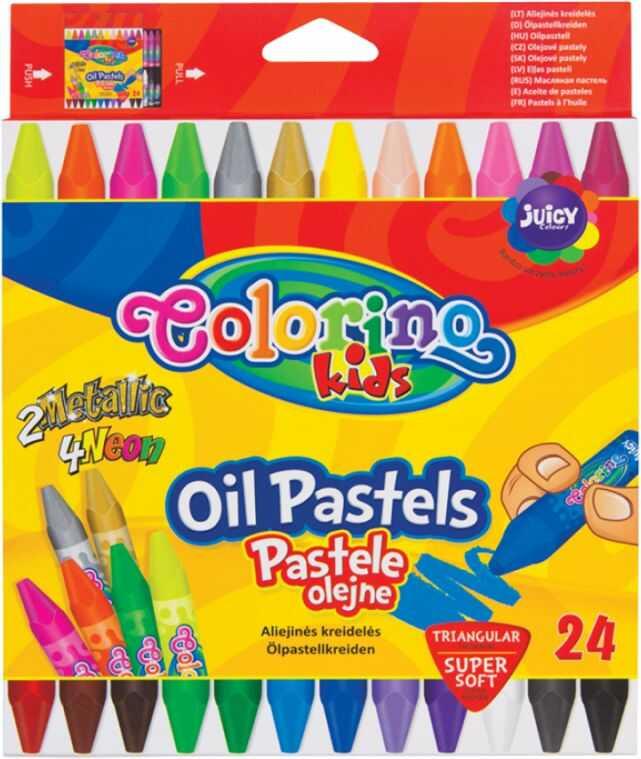 Pastele olejne 24k trójkątne Colorino nr 6085 836085