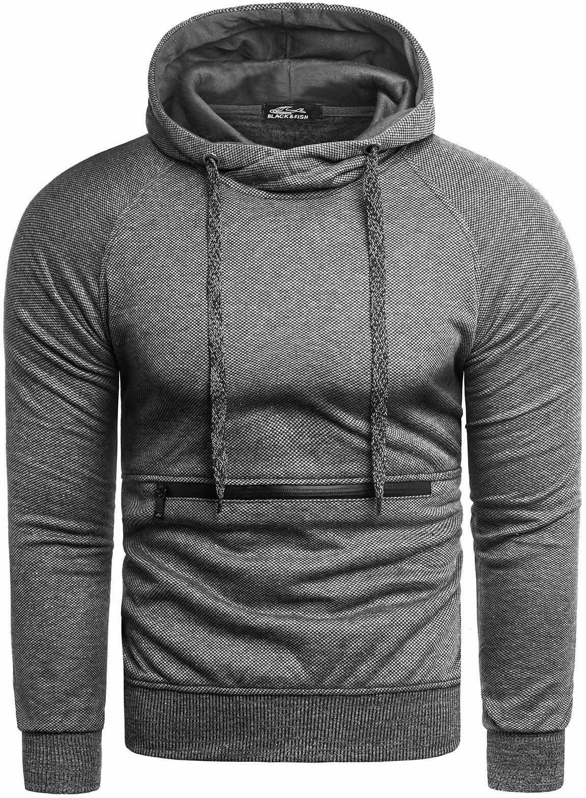 Bluza męska YP1065 - szary