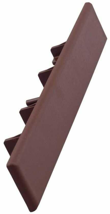 Zaślepka do desek kompozytowych GALA redwood 12 szt. 15 x 2.5 cm DLH