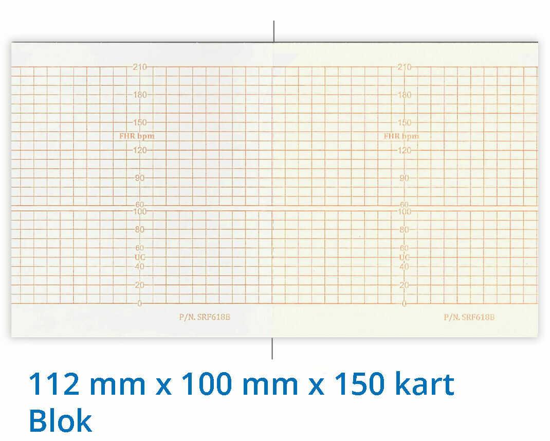 Papier termiczny do KTG Sunray SRF 628B 112mm x 100mm x 150kart