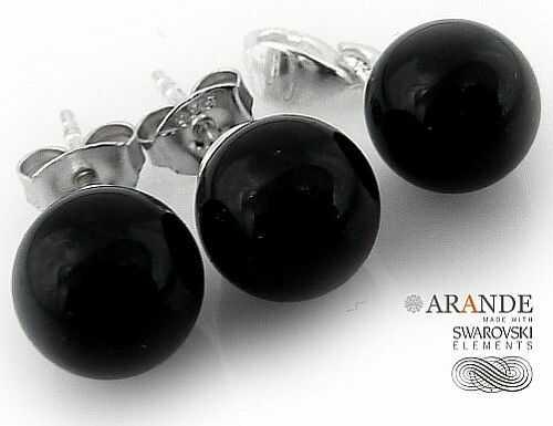 Kryształy Perły Komplet Certyfikat Black