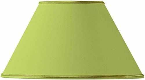 Klosz lampy, kształt wiktoriański, Ø 30 x 13 x 18 cm, jasnozielony
