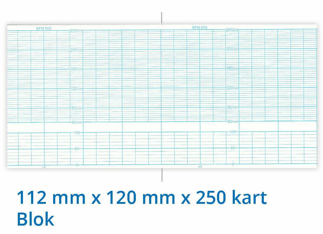 Papier termiczny do KTG Biosys BFM-800 112mm x 120mm x 250 kart