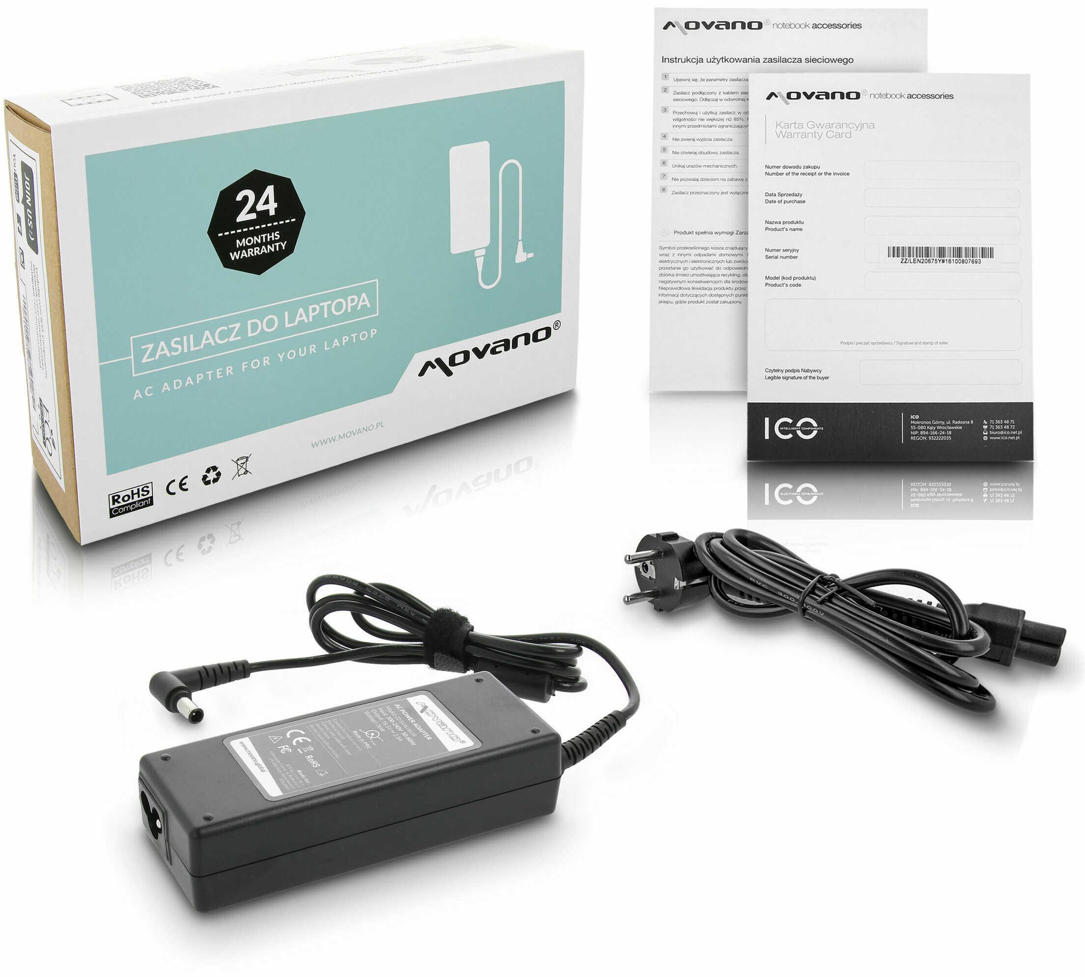 Zasilacz ładowarka do Sony Vaio PCG-F403 PCG-F701 PCG-F707