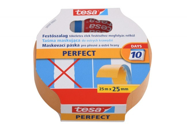 Taśma malarska Tesa Perfect długość 25 m, szerokość 25 mm (56500-00001-00)
