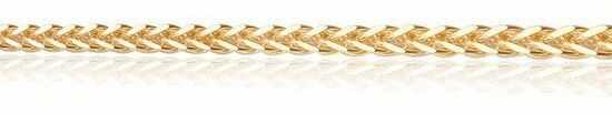 Staviori łańcuszek spiga żółte złoto 0,333.