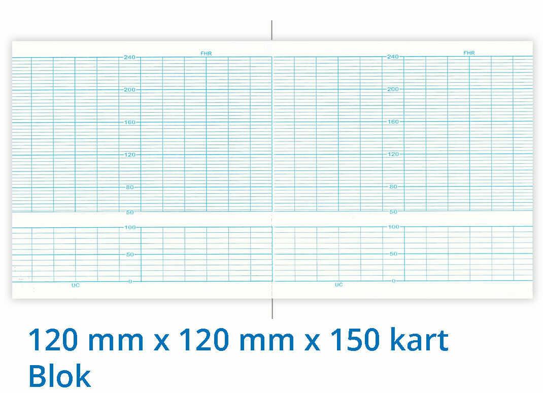 Papier termiczny do KTG Biosys IFM-500 120mm x 120mm x 150kart
