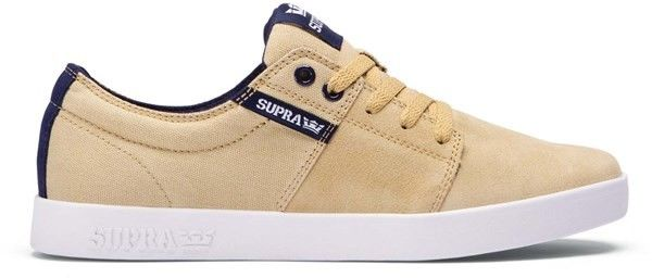buty SUPRA - Stacks Ii Khaki Navy - White (248