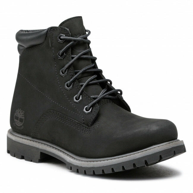 Trapery TIMBERLAND - Waterville 6in Basic Wp TB0A17VM0011 Black Nubuck