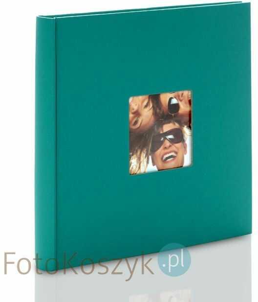 Album na zdjęcia wklejane Fun mały kwadrat Petrol (40 kremowych stron)