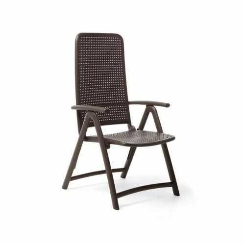 Nardi Krzesło Darsena brązowy