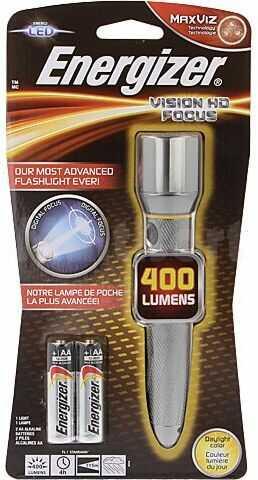 Latarka LED ENERGIZER wodoodporna 4h 400lm