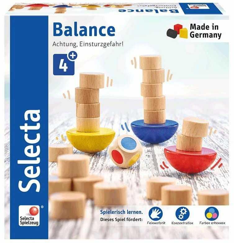 Selecta 63001 Balance, gra w kości i układanie