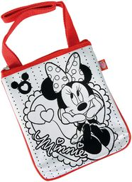 Simba 106375385 - Color Me Minnie Mouse Sling Bag 18 x 22 cm