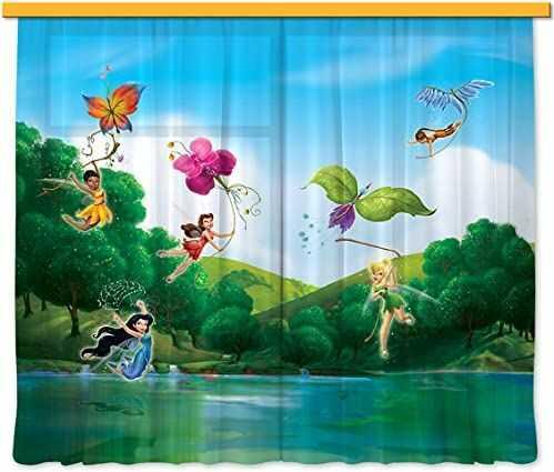 Firanka/zasłona FCS XL 4317 pokój dziecięcy Disney Fairies