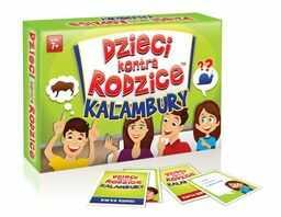 Dzieci kontra rodzice Kalambury ZAKŁADKA DO KSIĄŻEK GRATIS DO KAŻDEGO ZAMÓWIENIA