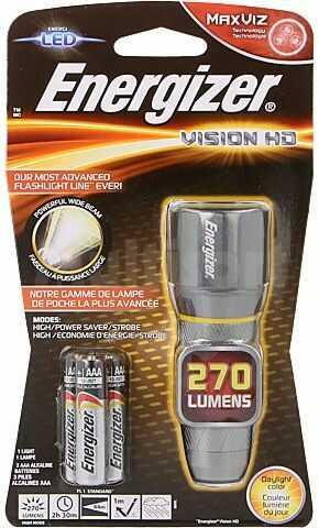 Latarka LED ENERGIZER wodoodporna 2,5h 250lm