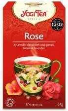 Herbatka Tao Rose Bio (17 x 2g) 34g Yogi Tea