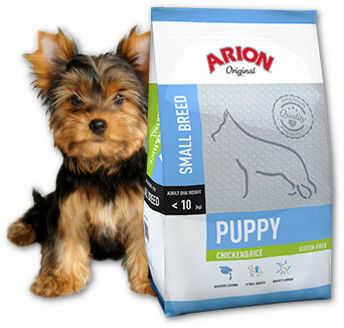 ARION Original Puppy Small Breed Chicken & Rice 7,5kg