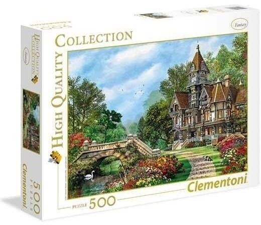 Puzzle 500 Old Waterway Cottage - Clementoni