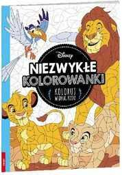 Disney Classic Niezwykłe kolorowanki. Koloruj według kodu ZAKŁADKA DO KSIĄŻEK GRATIS DO KAŻDEGO ZAMÓWIENIA