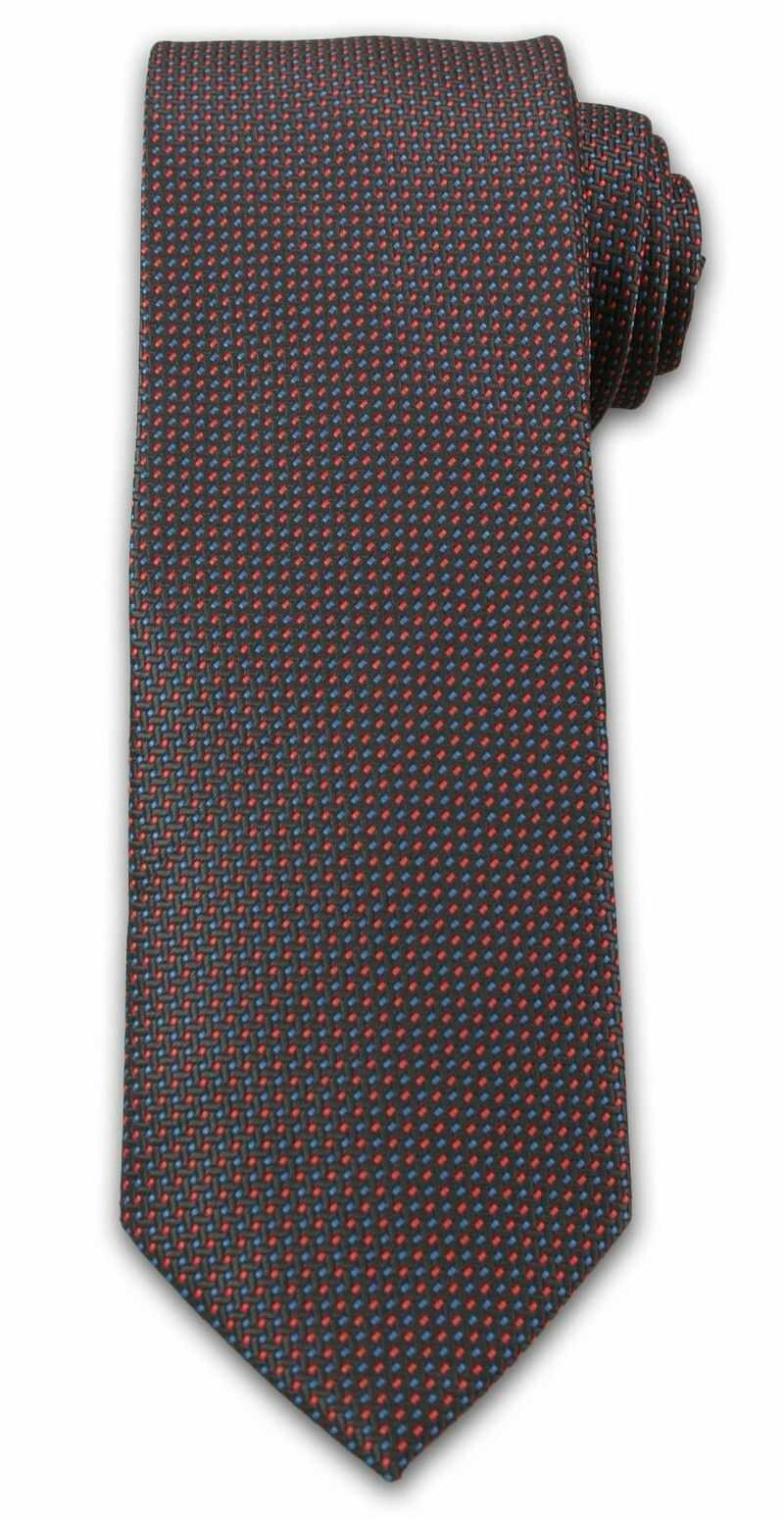 Uniwersalny Krawat Męski z Delikatnym Deseniem - Chattier - Neutralny Kolorystycznie KRCH1004