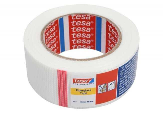Siatka maskująca do karton-gips Tesa długość 45 m, szerokość 48 mm (60101-00001-00)