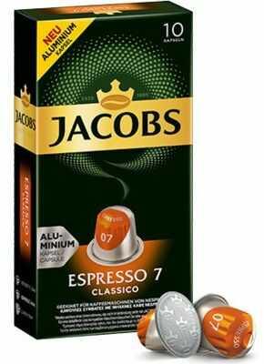 Kapsułki z kawą JACOBS ESPRESSO 7 CLASSICO. Kup taniej o 40 zł dołączając do Klubu