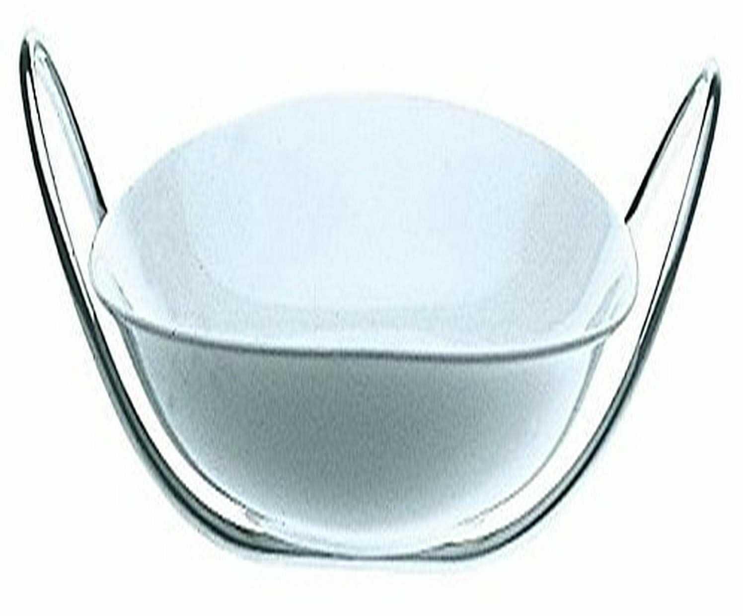 Mepra 29 x 36 cm stal nierdzewna ze względu na drobne chińskie salaterki ze stojakiem, srebrny